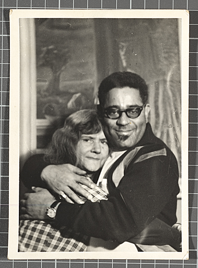 Dizzy Gillespie and Gertrude Abercrombie