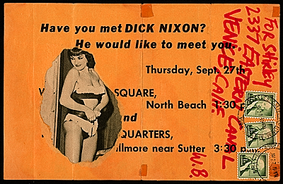 [Wallace Berman mail art]