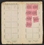 [Florence Allen's membership book and working card for the San Francisco Models' Guild pages 3]