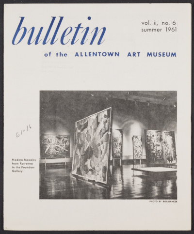 Bulletin of the Allentown Art Museum