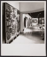An installation view of the Modern Mosaics of Ravenna exhibition