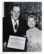 [William J. Connelly receiving an award ]