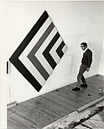 [Kenneth Noland in his studio ]