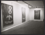 [Installation view of the Jack Bush exhibition at the Andre Emmerich Gallery in Zurich ]