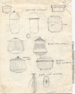 Sketches of Pots