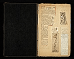 [Alexander Archipenko scrapbook no. 2 pages 1]