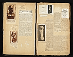 [Alexander Archipenko scrapbook no. 2 pages 2]