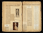 [Alexander Archipenko scrapbook no. 2 pages 3]