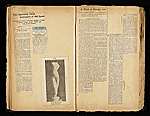 [Alexander Archipenko scrapbook no. 2 pages 7]
