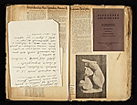 [Alexander Archipenko scrapbook no. 2 pages 10]