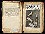 [Alexander Archipenko scrapbook no. 2 pages 17]