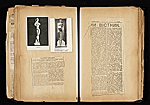 [Alexander Archipenko scrapbook no. 2 pages 27]