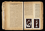 [Alexander Archipenko scrapbook no. 2 pages 28]