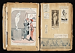[Alexander Archipenko scrapbook no. 2 pages 44]