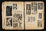 [Alexander Archipenko scrapbook no. 2 pages 45]