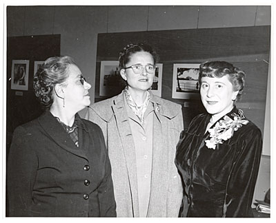 Florence Arquin, Isobel Kelly, and Margarita Orozco