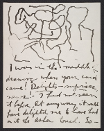 Philip Guston letter to Elise Asher