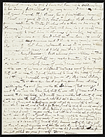 [Herbert Gustave Herkomer, Munich, Germany letter to Otto H. (Otto Henry) Bacher verso ]