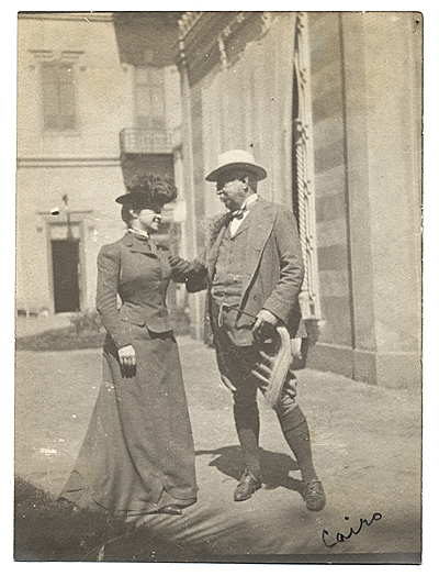 [Henry Bacon and his wife Louis Lee Bacon.]
