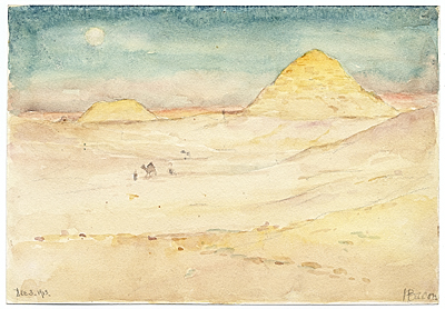 [Egyptian landscape]