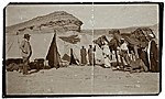 [Henry Bacon camping in Egypt ]