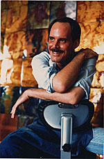 [Fred Ball in his Studio]