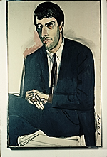 Reproduction of Miles Kreuger, 1959, by Alice Neel
