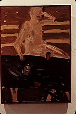 Photo of Allan Kaprows painting Nude