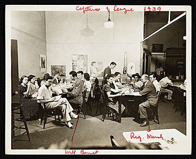 Art Student League Cafeteria