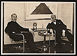Rudolf Bauer and Filippo Tommaso Marinetti