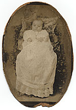 William Baziotes as an infant