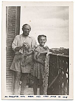 Pablo Picasso and daughter Maya Picasso