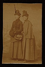 Cecilia Beaux and her cousin May Whitlock
