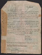 John Sloan, Hugo Gellert, and Maurice Becker letter to fellow artists and authors