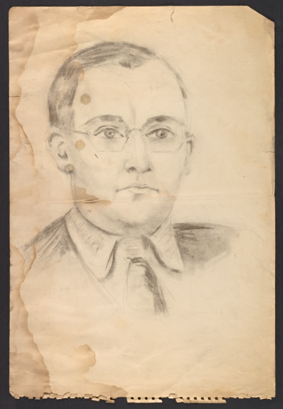 Drawing of a man