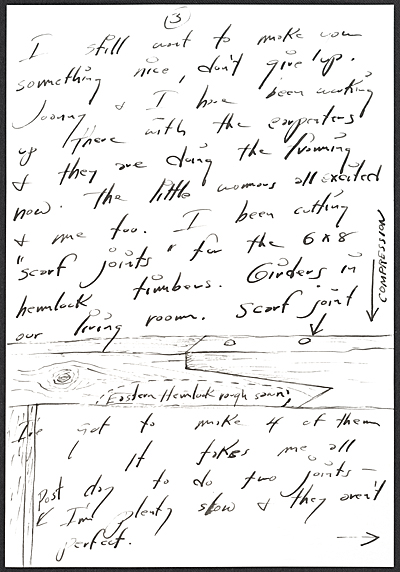 [H. C. (Horace Clifford) Westermann, Brookfield, Conn. letter to Billy Al Bengston, Venice, Calif.]