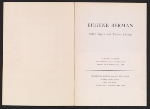 [Eugene Berman, ballet, opera and theatre designs pages 1]