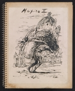 Album of photographs of drawings of Mexico
