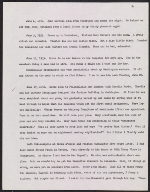 [George Biddle diary transcript page 4]