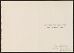 [Lois M. Jones holiday card to Martin Birnbaum 1]