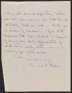 [George Bellows letter to Martin Birnbaum 1]