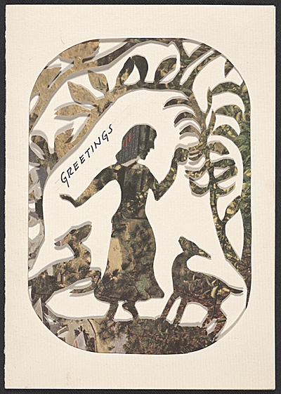 [Gertrude Lagerstrom, Chicago, Ill. christmas card to Kathleen Blackshear]