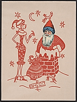 Maurice Chevalier christmas card to Kathleen Blackshear