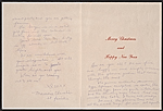 [Maurice Chevalier christmas card to Kathleen Blackshear 1]