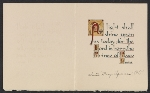 [Sister Mary Aquinas Christmas card to Kathleen Blackshear 1]