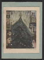 Christmas card from Vera Berdich to Ethel Spears