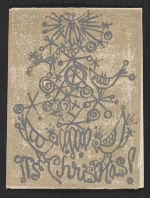 Barbara Aubin Christmas card to Ethel Spears