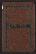 Kathleen Blackshears address book