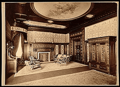 [Bedroom of the Hamilton McKeon Twombley house]