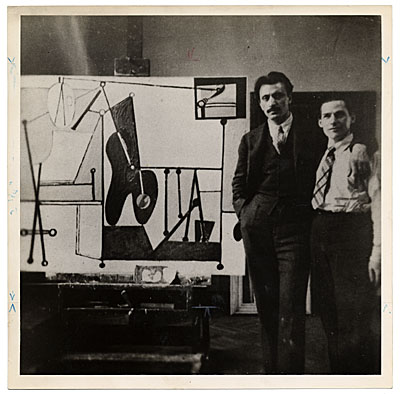 [Arshile Gorky and Willem de Kooning]